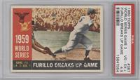 World Series Game #3: Furillo Breaks Up Game (Carl Furillo) [PSA 4.5]