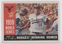 World Series Game #4: Hodges' Winning Homer (Gil Hodges) (White Back) [Poor&nbs…