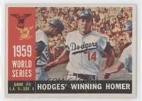 World Series Game #4: Hodges' Winning Homer (Gil Hodges) (White Back) [Good&nbs…