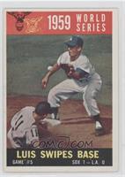 World Series Game #5: Luis Swipes Base