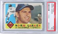 Norm Larker (White Back) [PSA 7]