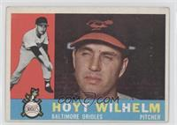 Hoyt Wilhelm (White Back) [Good to VG‑EX]