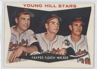 Young Hill Stars (Milt Pappas, Jack Fisher, Jerry Walker) [GoodtoVG…