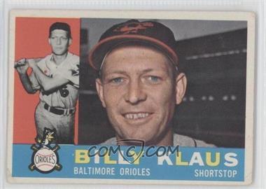 1960 Topps #406 - Billy Klaus [GoodtoVG‑EX]