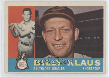 1960 Topps #406.2 - Billy Klaus (Gray Back)
