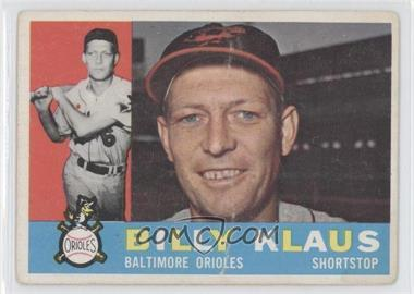 1960 Topps #406WB - Billy Klaus [Good to VG‑EX]