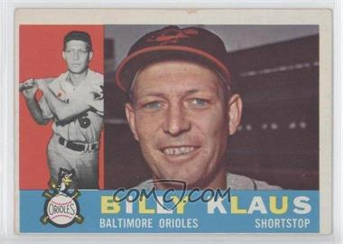 1960 Topps #406WB - Billy Klaus