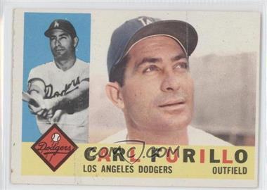 1960 Topps #408.1 - Carl Furillo (White Back)