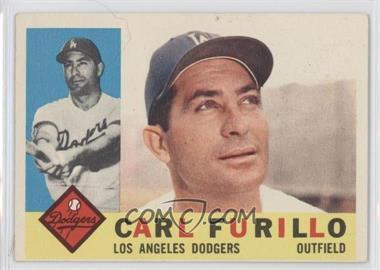 1960 Topps #408.2 - Carl Furillo (Gray Back)