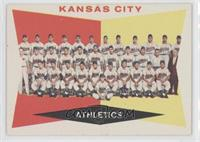 Kansas City Athletics Team (White Back)