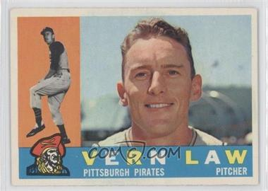 1960 Topps #453 - Vern Law