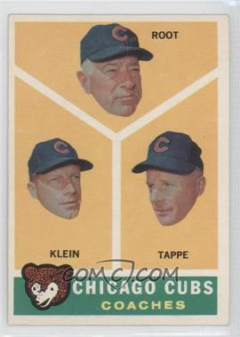 1960 Topps #457 - Lou Klein, Charley Root, El Tappe
