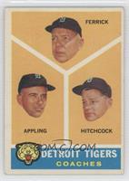 Tom Ferrick, Luis Aparicio, Billy Hitchcock