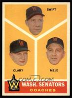 Bob Swift, Ellis Clary, Sam Mele [NM]