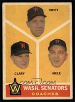 Bob Swift, Ellis Clary, Sam Mele [VG]