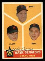 Bob Swift, Ellis Clary, Sam Mele [VG EX]