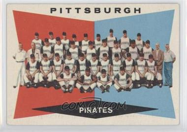 1960 Topps #484 - Pittsburgh Pirates Team