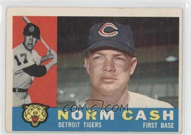 1960 Topps #488 - Norm Cash [Good to VG‑EX]