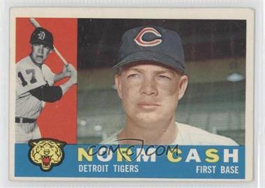1960 Topps #488 - Norm Cash [GoodtoVG‑EX]