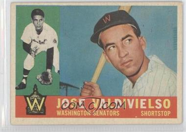 1960 Topps #527 - Jose Valdivielso