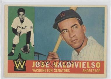 1960 Topps #527 - Jose Valdivielso