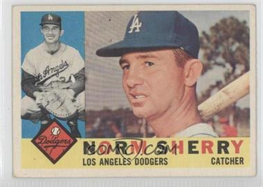 1960 Topps #529 - Norm Sherry [GoodtoVG‑EX]