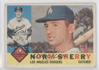 1960 Topps #529 - Norm Sherry [Good to VG‑EX]