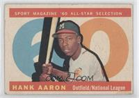 Hank Aaron [GoodtoVG‑EX]