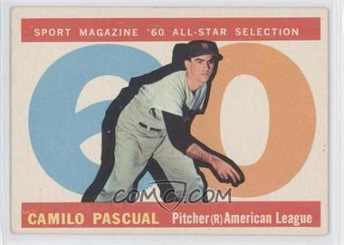1960 Topps #569 - Camilo Pascual