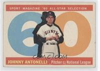 Johnny Antonelli [Good to VG‑EX]