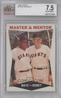 Master & Mentor (Willie Mays, Bill Rigney) [BVG 7.5]
