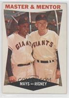 Master & Mentor (Willie Mays, Bill Rigney)