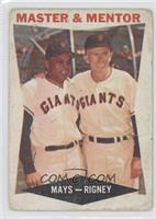 Master & Mentor (Willie Mays, Bill Rigney)