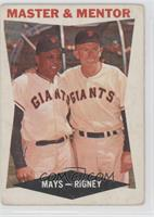 Master & Mentor (Willie Mays, Bill Rigney) [Good to VG‑EX]