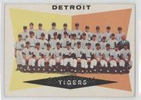 Checklist, Detroit Tigers Team