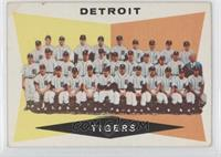 Checklist, Detroit Tigers Team [Good to VG‑EX]