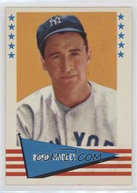1961 Fleer Baseball Greats - [Base] #111 - Bump Hadley