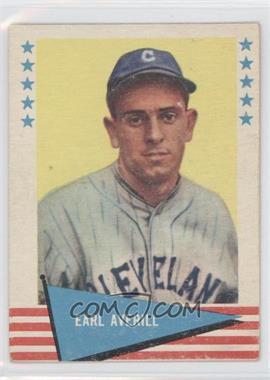 1961 Fleer Baseball Greats - [Base] #5 - Earl Averill