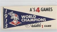 1913 Philadelphia Athletics
