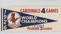 1926 St. Louis Cardinals