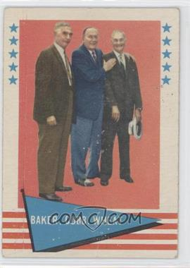 1961 Fleer Baseball Greats #1 - Checklist (Baker, Cobb, Wheat)