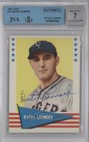 Dutch Leonard [BGS/JSA Certified Auto]