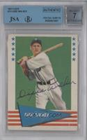 Dixie Walker [BGS/JSA Certified Auto]