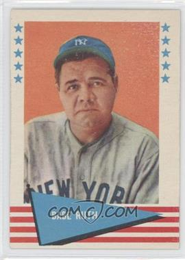 1961 Fleer Baseball Greats #75 - Babe Ruth