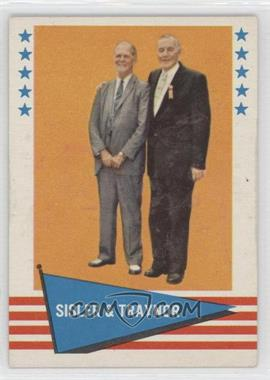 1961 Fleer Baseball Greats #89 - George Sisler, Pie Traynor