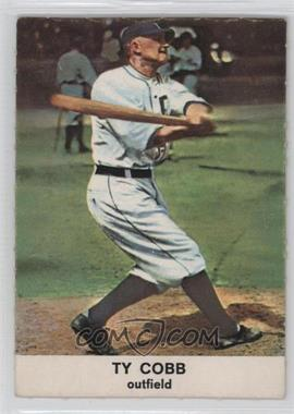 1961 Golden Press Hall of Fame - [Base] #25 - Ty Cobb