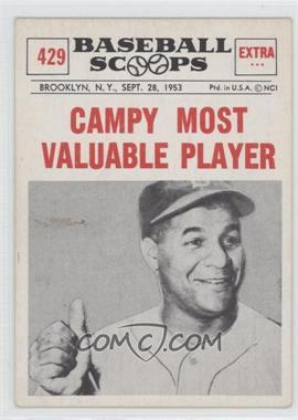 1961 Nu-Cards Baseball Scoops #429 - Roy Campanella