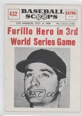 1961 Nu-Cards Baseball Scoops #432 - Carl Furillo