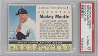 Mickey Mantle (Perforated) [PSA AUTHENTIC]