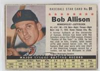 Bob Allison (Hand Cut)
